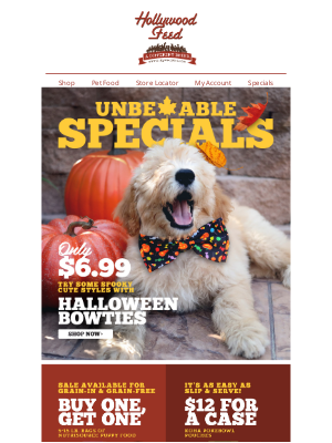 Hollywood Feed - UnbeLEAFable Specials Inside! 🍁