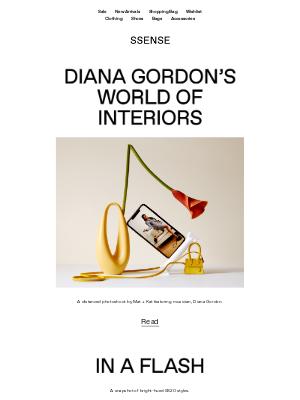 Diana Gordon's World of Interior: This Week's Stories