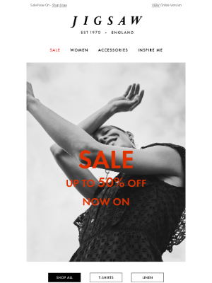 Jigsaw (UK) - SALE Now On   Up to 50% off