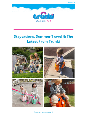 Trunki (UK) - Summer fun with Trunki 😀
