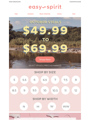 Easy Spirits - 🍁 Fall Picks Starting At $49.99