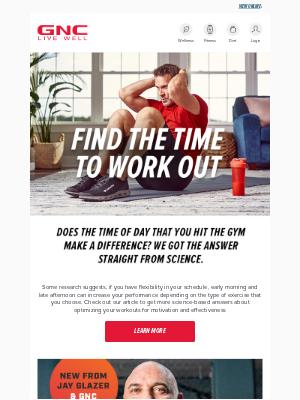 GNC - #WorkoutWednesday, NEW Unbreakable Performance + B2G1 Fresh Start Sale!
