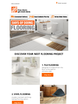 The Home Depot (CA) - Discover your next flooring project!