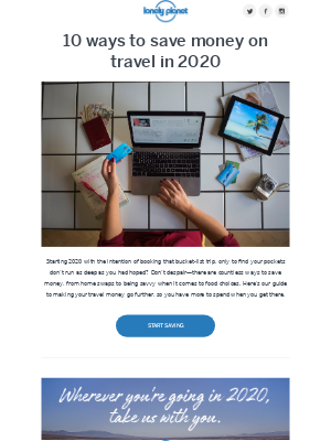 10 ways to save money on travel in 2020
