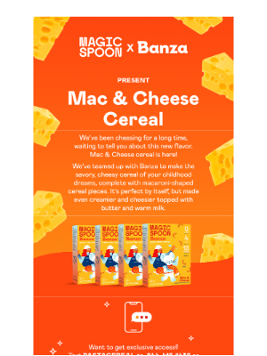 Magic Spoon - Introducing: Mac & Cheese Magic Spoon