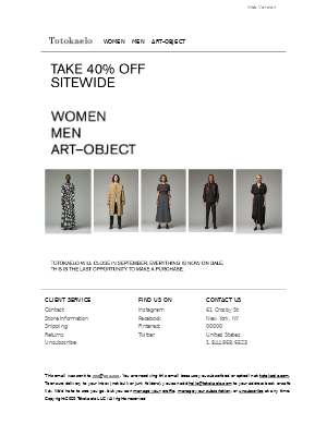 Need Supply Co. - Take an additional 40% off everything