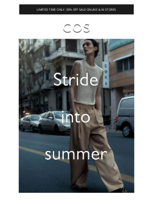 COS - Summer pants: explore the collection + shop new styles added to sale