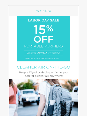 Wynd - Shop & Save During The Labor Day Sale ✊⚒️️🧰