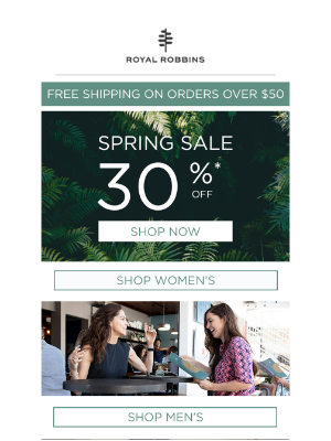 Spring Sale – 30% Off Site-Wide!