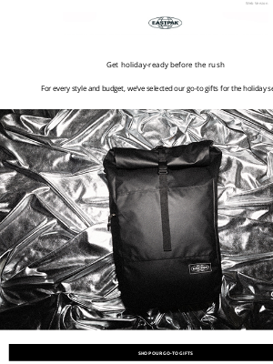Eastpak - Our go-to gifts this season
