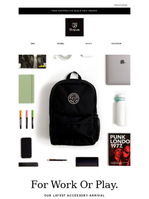 The New Crest Backpack