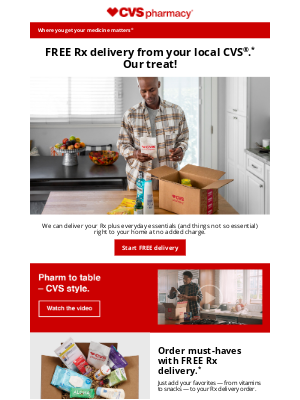 CVS Pharmacy - Tabatha, Have You Tried Rx Delivery from CVS?