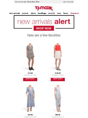 New arrivals alert!