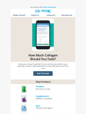 Vital Proteins - How Much Collagen Should You Take?