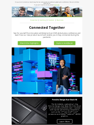 Acer - Discover innovation that helps keep people connected.