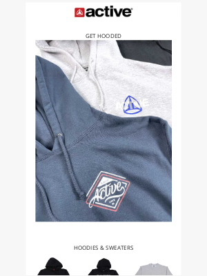 Active Ride Shop - Hooded