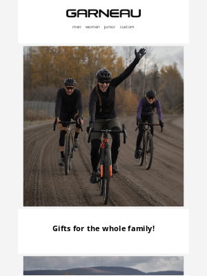 Garneau - Holiday picks for everyone!