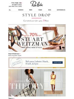 Rue La La - Up to 70% Off >></noscript> NEW << Stuart Weitzman