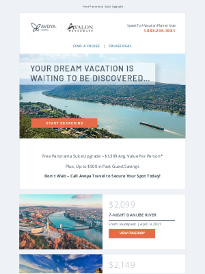 Uniworld Boutique River Cruise Collection - Save BIG on Avalon Waterways River Cruises!