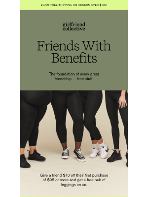 Girlfriend Collective - FRIENDS WITH BENEFITS