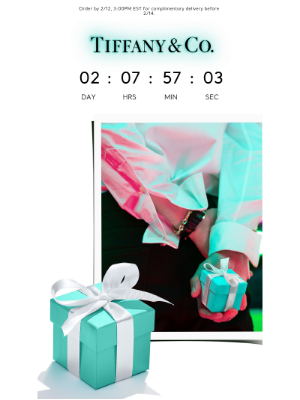 Tiffany & Co. - Make the Most of Complimentary Shipping