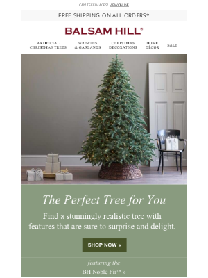 Balsam Hill - Make it Your Best Christmas Yet