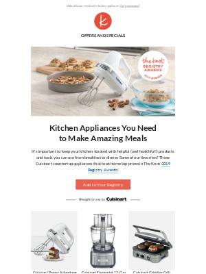 Award-winning registry picks for your kitchen