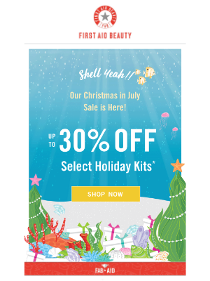 30% OFF Kits: Christmas In July 🎄