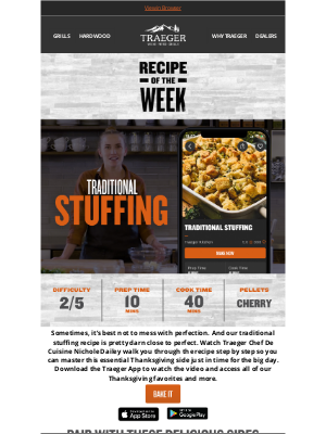 Try Our Traditional Stuffing