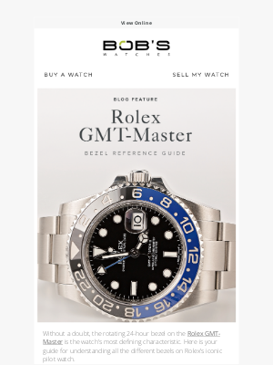 Bob's Watches - The Defining GMT Characteristic ⭕