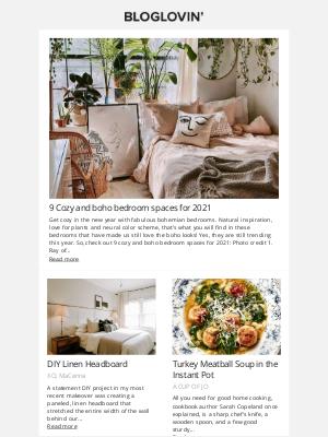 Chi Chi London - DIY Linen Headboard, 10 Indoor Screen-Free Activities & More