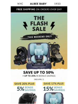 Albee Baby - ⛈ April Shower Flash Sale ⛈ + Sales Ending Soon! ⏰