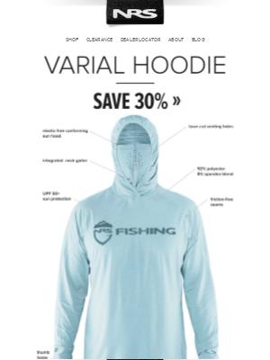 NRS - 30% Off Varial Hoodie & More Fall Sale Deals