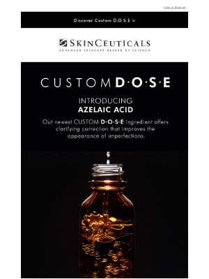 SkinCeuticals - INTRODUCING Azelaic Acid
