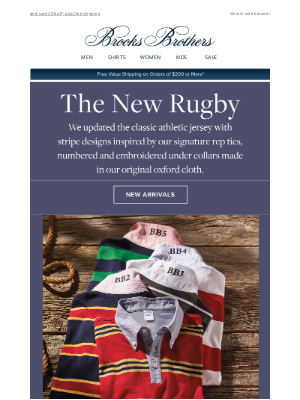 Brooks Brothers (AU) - Meet your favorite rugby