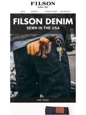 Filson - Tried & True Denim
