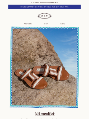 Dreaming of Summer - Tod's New Sandals