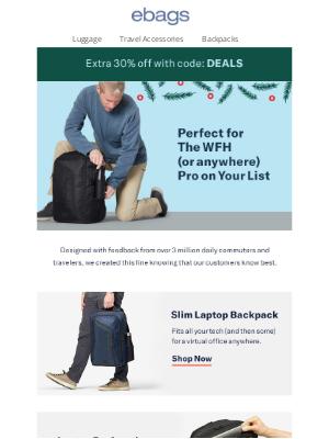 eBags - Perfect For Any WFH Pro 🎁