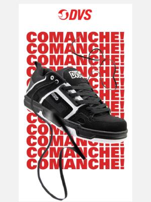 DVS Shoes - COMANCHE! COMANCHE! COMANCHE!