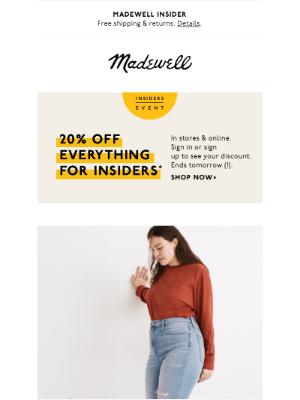 Madewell - ✨Magic Pockets✨