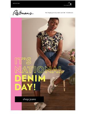 Reitmans (CA) - 👖 Happy National Denim Day!