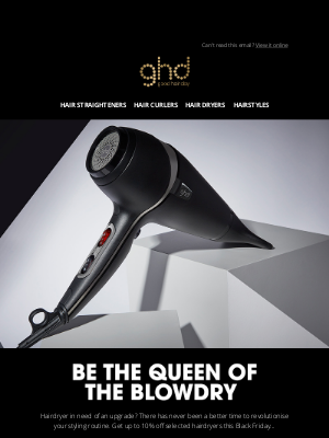 ghd (UK) - ghd hair dryer + Black Friday = winning
