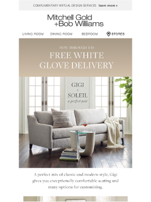 MGBWhome - Free White Glove Delivery + 30% off, for a limited time