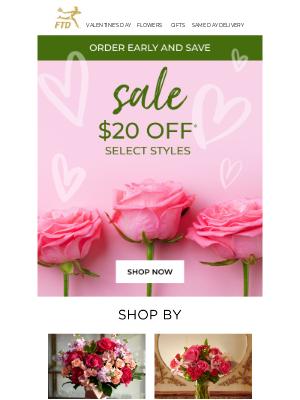 ❤️ $20 Off Our Valentine's Favorites