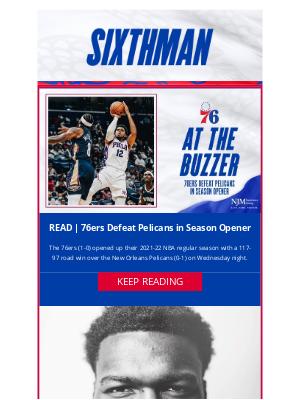 Philadelphia 76ers - 76ers Defeat Pelicans in Season Opener