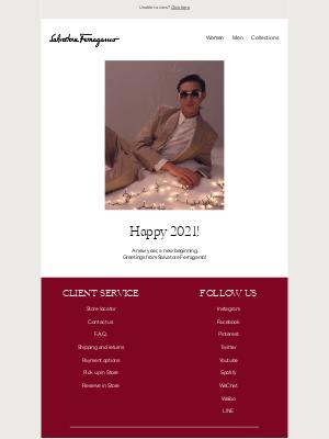 Salvatore Ferragamo UK - Happy 2021!