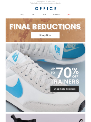OFFICE Shoes (UK) - Up to 70% off trainers, boots and flats
