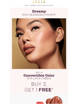 Stila Cosmetics - Stock up & Get one Free