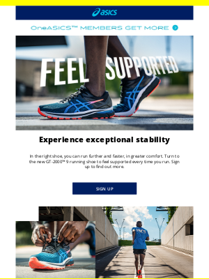 ASICS (UK) - Coming soon: A NEW more supportive running shoe