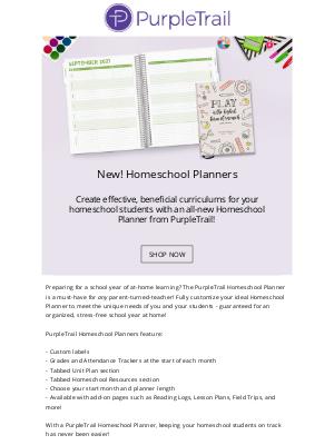 PurpleTrail - Homeschooling is easy with PurpleTrail! 🍎📚